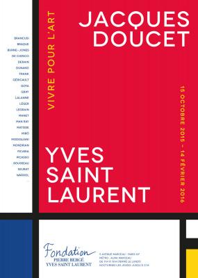 Jacques Doucet / Yves Saint Laurent : Vivre pour l'Art, à la Fondation Pierre Bergé