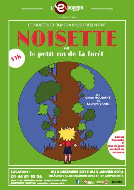Pour les tout-petits : Noisette, nouveau spectacle à l'Européen