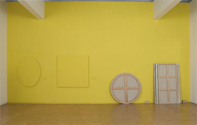 Claude Rutault au Centre Pompidou