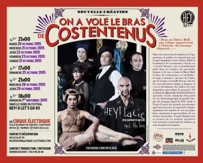 On a volé le bras de Costentenus au Cirque Électrique : coup de coeur !