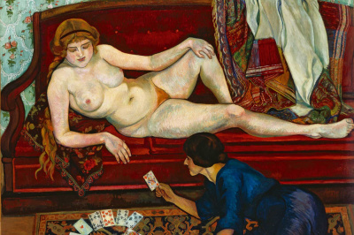 Valadon, Utrillo & Utter à l'atelier, 12 rue Cortot, au Musée de Montmartre