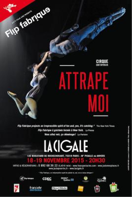 Cirque contemporain : Flip Fabrique dans Attrape-moi à la Cigale
