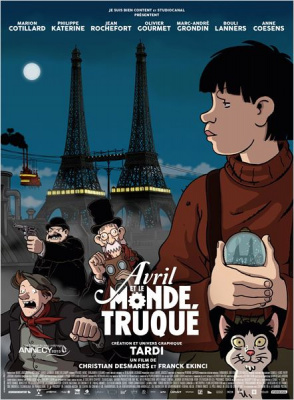 Avril et le monde truqué : Tardi s'anime au cinéma !