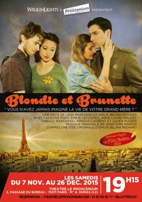 Blondie et Brunette au théâtre Proscenium