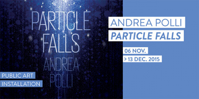 COP21 : Particle Falls, l'installation au Mona Bismarck American Center
