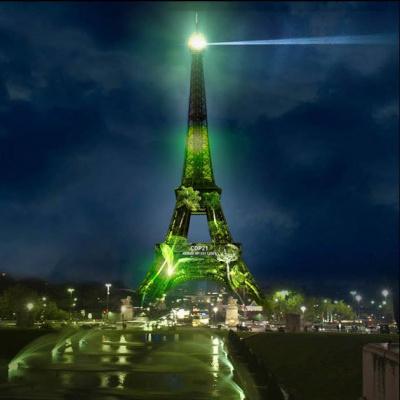 COP21 : One Heart One Tree, une forêt à la Tour Eiffel