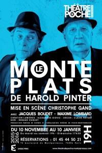 Le Monte-plats d'Harold Pinter au Théâtre de Poche-Montparnasse