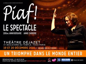 Piaf ! le spectacle au théâtre Dejazet : gagnez vos places