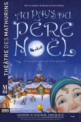 Au pays du Père Noël au théâtre des Mathurins