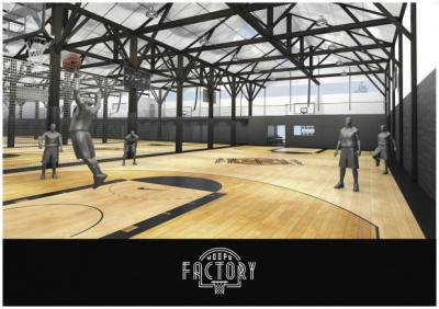Hoops Factory, premier complexe de basketball en France