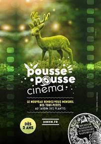 Pousse Pousse, le nouveau festival cinéma pour enfants au Jardin des Plantes