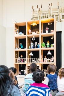 Arsène et l'immeuble du 42 rue Maile Angers, un spectacle de marionnettes