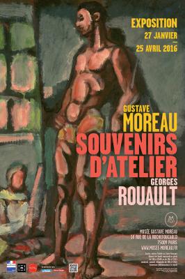 Gustave Moreau et Georges Rouault s'exposent au musée Gustave Moreau