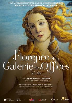 Visitez Florence et la Galerie des Offices au cinéma !