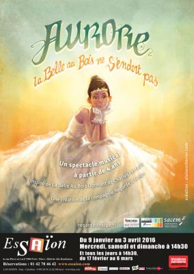 Aurore, spectacle musical au théâtre de l'Essaïon