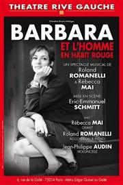 Barbara et l'homme en habit rouge au théâtre Rive Gauche : notre critique