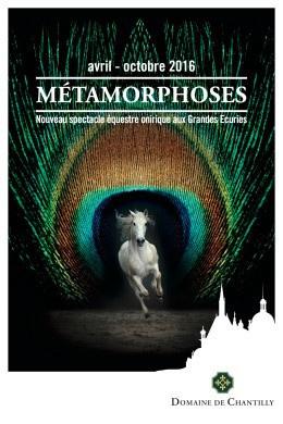 Métamorphoses, le nouveau spectacle des écuries de Chantilly
