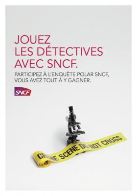 L'enquête Polar SNCF s'invite à Livre Paris (Salon du livre 2016)