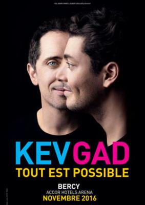 Kev Adams et Gad Elmaleh réunis dans Tout est possible