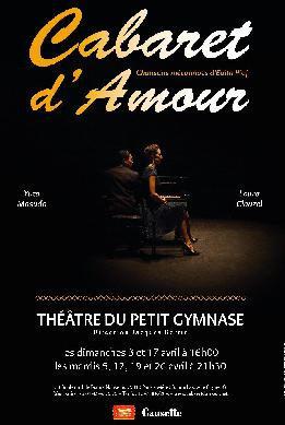 Cabaret d'amour au théâtre du Gymnase