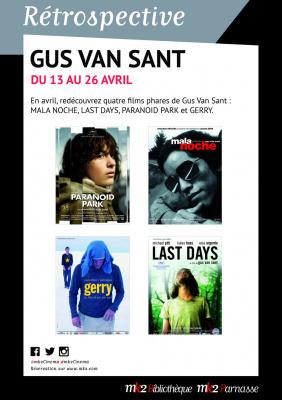 Cycle Gus Van Sant dans les MK2 parisiens