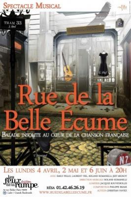 Rue de la belle écume, le spectacle musical aux Feux de la Rampe