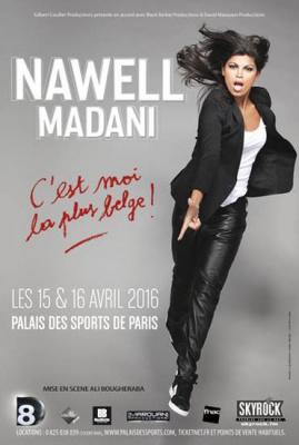 Nawell Madani au Palais des Sports