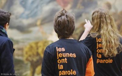 Le musée du Louvre donne la parole aux jeunes étudiants en art !