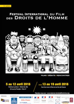 Festival international du Film des Droits de l'Homme de Paris 2016