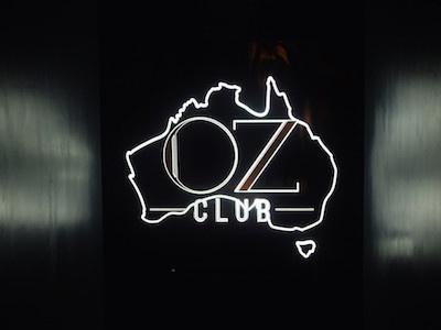 Le Oz Club, nouveau bébé du Café Oz à Paris