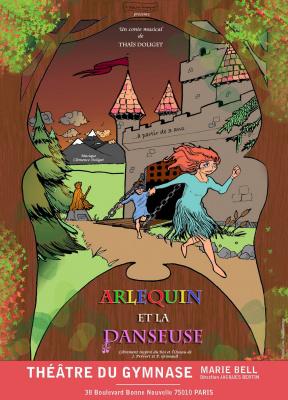Arlequin et la Danseuse, le spectacle pour enfants du théâtre du Gymnase