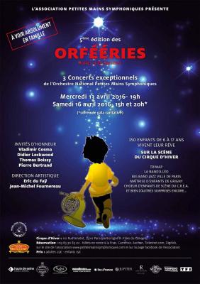 L'Orchestre National des Petites Mains Symphoniques au Cirque d'Hiver