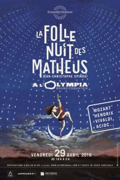 La Folle Nuit des Matheus à l'Olympia