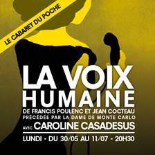 La Voix humaine au théâtre de Poche-Montparnasse