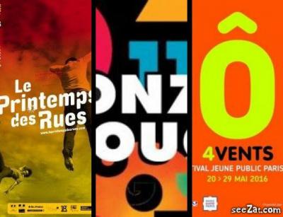 Les festivals de théâtre de la saison printemps-été 2016