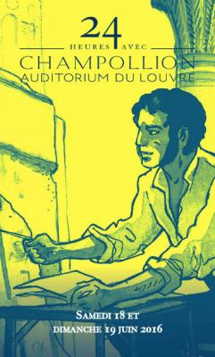 24h avec... Champollion au musée du Louvre