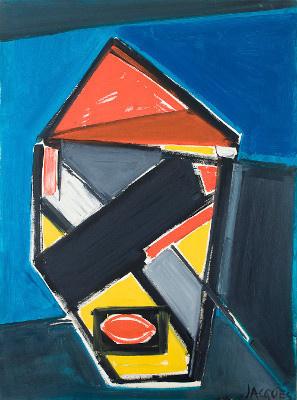 Jacques Grinberg, la peinture sans concession, l'expo au MAMVP