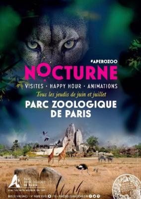 Nocturnes cet été au Parc Zoologique de Paris !