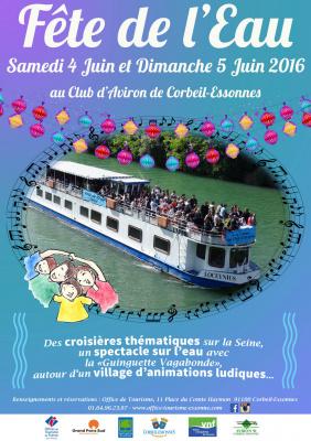 La Fête de l'Eau à la Base d'aviron de Corbeil-Essonnes