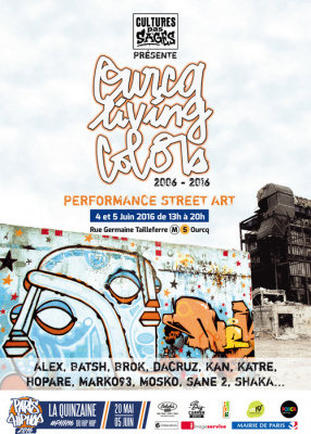 Ourcq Living Colors 2016, le festival de street art