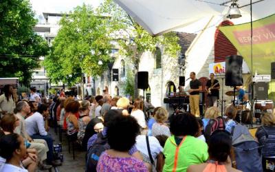Festival Musiques en terrasse 2016 à Bercy Village