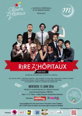 Rire Z'Hôpiteaux, le spectacle du Grand Palais