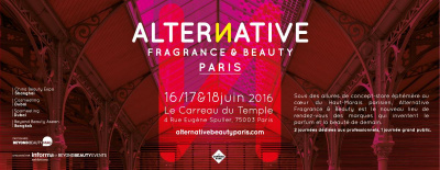 Alternative Fragrance and Beauty au Carreau du Temple