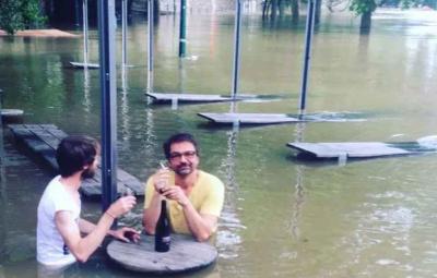Sauvez Les Nautes de l'inondation en buvant un verre !