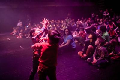 Boum à la Gaité Lyrique : The Fantasy Orchestra fait danser les enfants