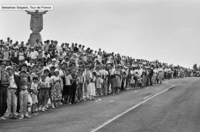Le Tour de France de Sebastião Salgado à la galerie Polka