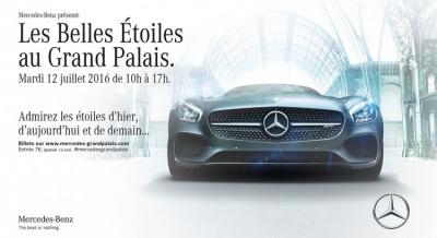 Les Belles Étoiles, l'expo Mercedes au Grand Palais