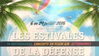 Les Estivales de la Défense : restos, spectacles et créateurs !