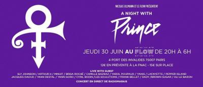 Le Flow rend hommage à Prince !