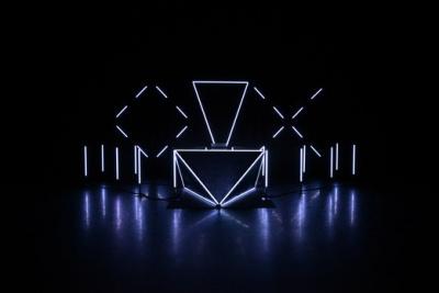 OX à la Gaité Lyrique : une installation lumineuse et musicale
